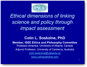science and ethics as presented in colin ross essay Dr colin ross: i think the doctors participated for a variety of  isn't cia's project  mk-ultra a contrary experiment with your ethics, even criminal  many  scientific advances funded by the military have trickled down  i have presented  at the isstd annual conference every year since its formation in 1984.